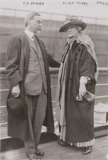 F.A. Parker; Ellen Terry, by Bain News Service - NPG x197889