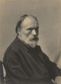Sir Edward Coley Burne-Jones, 1st Bt, possibly by Alfred James Philpott (Phillpot), for  Elliott & Fry - NPG x197896