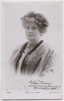Ellen Terry, by R. Johnson, published by  Rotary Photographic Co Ltd - NPG x197931