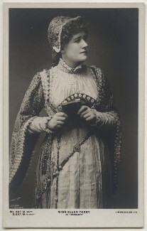 Ellen Terry as Margaret in 'Faust', by Window & Grove, published by  J. Beagles & Co - NPG x197942