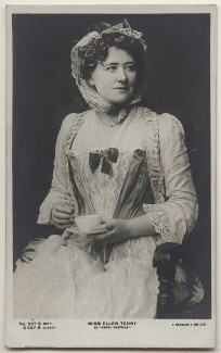 Ellen Terry as Nance Oldfield, by Window & Grove, published by  J. Beagles & Co - NPG x197944