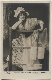 Ellen Terry as Madame Sans Gêne in 'Madame Sans Gêne', by Window & Grove, published by  J. Beagles & Co - NPG x197946