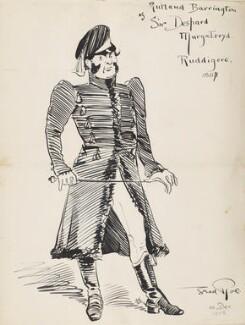Rutland Barrington (George Rutland Barrington Fleet) ('Rutland Barrington as Sir Despard Murgatroyd. Ruddigore, 1887'), by Fred Roe - NPG D43074