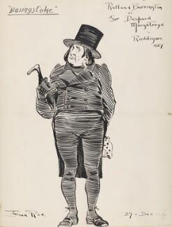 Rutland Barrington as Sir Despard Murgatroyd in Ruddigore, by Fred Roe - NPG D43075
