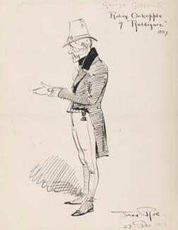 George Grossmith (George Grossmith as Robin Oakapple in Ruddigore 1887), by Fred Roe - NPG D43076
