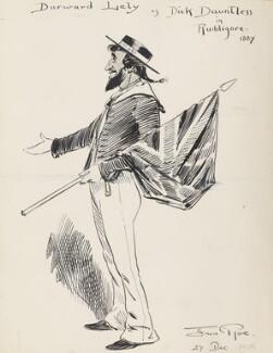 Durward Lely (James Durward Lyall) ('Durward Lely as Dick Dauntless in Ruddigore 1887'), by Fred Roe - NPG D43078