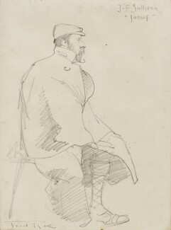 James Frank Sullivan ('Jassef'), by Fred Roe - NPG D43103