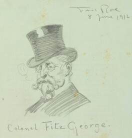 Sir Augustus Charles Frederick FitzGeorge ('Colonel FitzGeorge'), by Fred Roe - NPG D43104