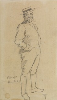 Thomas Blinks ('Tommy Blinks'), by Fred Roe - NPG D43108