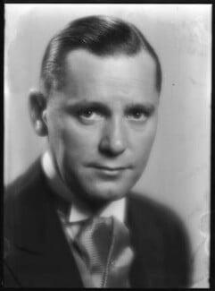 Herbert Marshall, by Dudley Glanfield - NPG x198674