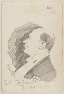 Sir (Edgar) Bertram Mackennal, by Fred Roe - NPG D43113