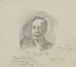 Frederick Marriott, by Fred Roe - NPG D43122