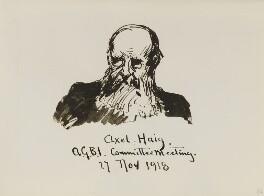 Axel Herman Haig, by Fred Roe - NPG D43124