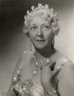 Marie Löhr (Lohr) as Mrs Maddox in 'Little Big Shot', by (Ernest) Cyril Stanborough - NPG x139851