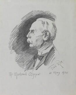 (Charles) Morland Agnew, by Fred Roe - NPG D43155