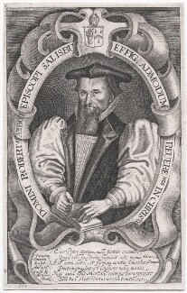 Robert Abbot, by Francis Delaram, published by  William Peake, after  Unknown artist - NPG D43036