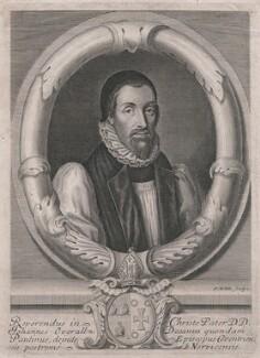 John Overall, by Robert White - NPG D43037