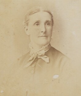 Hannah Smith (née Whitall) (Mrs Pearsall Smith), by Unknown photographer - NPG Ax160502