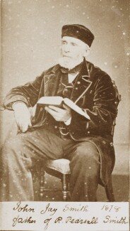 John Jay Smith, by Unknown photographer - NPG Ax160478