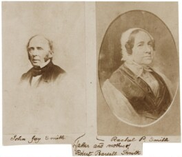 John Jay Smith; Rachel Collins Pearsall, by Unknown photographer - NPG Ax160481