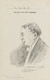 Gustave Tuck, by Fred Roe - NPG D43186