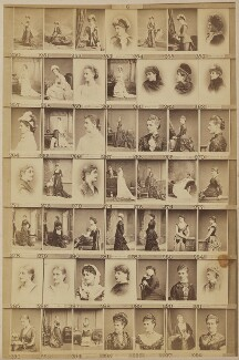 Various aristocratic ladies and others, by and after Elliott & Fry - NPG Ax139906