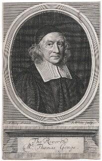 Thomas Gouge, by Robert White, after  John Riley - NPG D43306