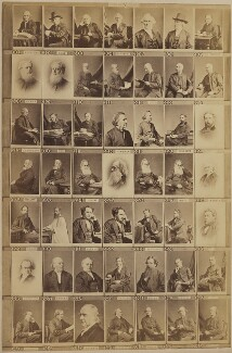 Various clergymen, by and after Elliott & Fry - NPG Ax139907