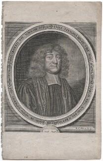Joseph Glanvill (Glanville), by William Faithorne - NPG D43307