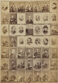 Various writers, historians and philanthropists, by and after Elliott & Fry - NPG Ax139908