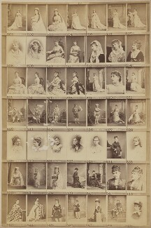 Various singers, by and after Elliott & Fry - NPG Ax139910