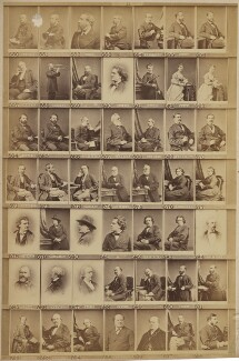 Various musical celebrities, by and after Elliott & Fry - NPG Ax139911