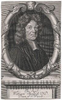 William Sherlock, by Robert White - NPG D43308