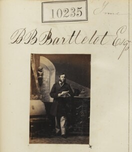 Brian Barttelot Barttelot, by Camille Silvy - NPG Ax59949