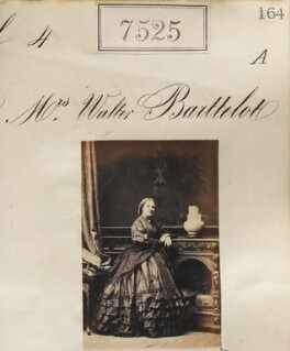 Harriet Barttelot (née Musgrave), by Camille Silvy - NPG Ax53349