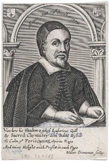 Samuel Clarke, by Wouter Binneman, after  Thomas Cross - NPG D43315