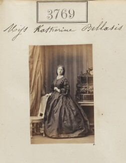 Katharine Bowring (née Bellasis), by Camille Silvy - NPG Ax53161