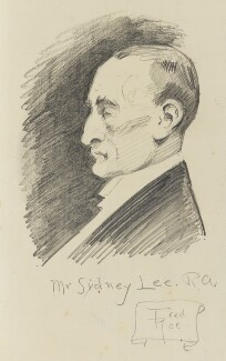 Sydney Lee, by Fred Roe - NPG D43205
