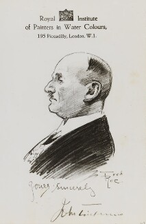 Sir John Timpson, by Fred Roe - NPG D43213