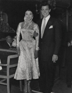 Joan Collins; Maxwell Reed, by F.J. Armes - NPG x194350
