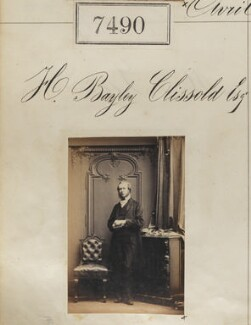 Henry Bayley Clissold, by Camille Silvy - NPG Ax57393