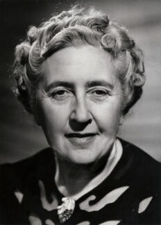 Agatha Christie, by Walter Bird, for  Camera Press: London: UK - NPG x139871