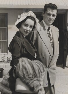 Dame Elizabeth Taylor; Conrad Hilton, Jr, for Planet News - NPG x139883