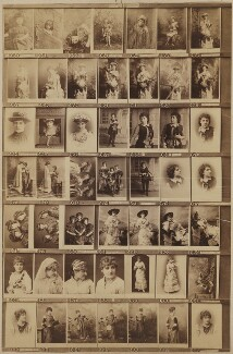 Various actresses and singers, by and after Elliott & Fry - NPG Ax139916