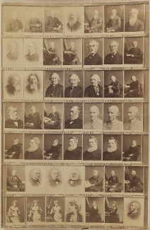Various clergymen, philanthropists, politicians and others, by and after Elliott & Fry, 1890s - NPG Ax139917 - © National Portrait Gallery, London