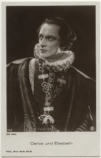 Conrad Veidt as Don Carlos in 'Carlos and Elisabeth', by Krabbe, published by  Ross-Verlag - NPG x139836