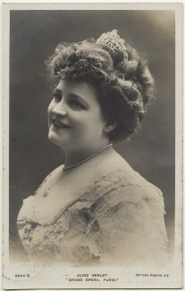 Alice Verlet, published by Rotary Photographic Co Ltd - NPG x139838