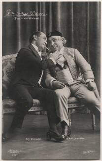 Carl Grünwald and Guido Thielscher in 'The Merry Widow', by Willinger (Margaret Willinger), published by  Photochemie - NPG x139844