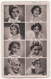 Gaby Morlay; Marie Bell; Florelle; Suzy Vernon (née Amelie Paris); Annabella (Suzanne Charpentier); Marie Glory (née Raymonde Louise Marcelle Toully); Mona Goya; Madeleine Renaud, published by Cinemagazine Editions, Paris - NPG x139840