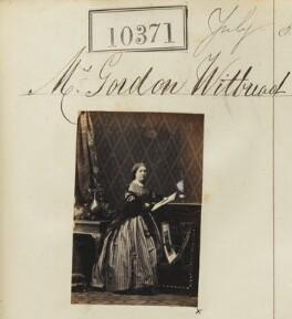 Georgina Vassall Whitbread (née Farwell), by Camille Silvy - NPG Ax60085
